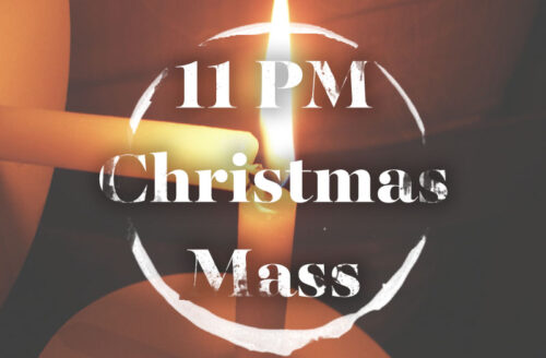11 PM Mass